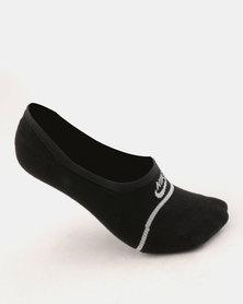 Nike Sneaker SOX ESNTL NO SHOW 2 Pack Black