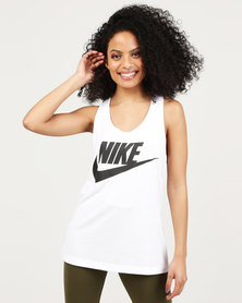 Nike Womens NSW Essential Tank HBR White