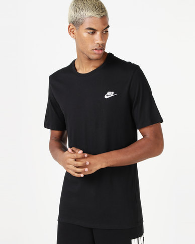 Nike M NSW Tee Club EMBRD FTRA Black  4db97909aa4dc