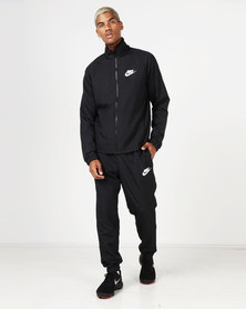 Nike Men's NSW CE Woven Track Suit Basic Black/White