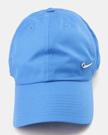 Nike Unisex NK H86 Cap Metal Swoosh Blue