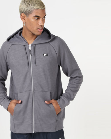 Nike M NSW Optic Hoodie FZ Grey