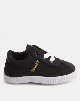 Black Sneakers   Canvas   Shoes   Online In South Africa   Zando 1f4f02a54e