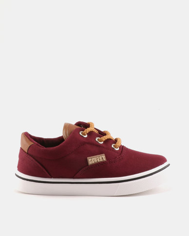 Soviet Kids Boston Sneakers Dark Plum