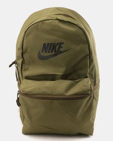 Nike Heritage Backpack Olive Canvas