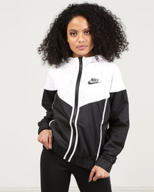 Nike W NSW Windrunner Jacket Black/White