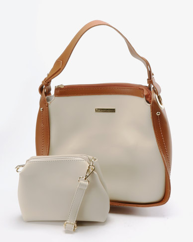 Blackcherry Bag Colour Pop Shoulder Bag Cream