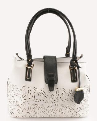 Blackcherry Bag Calssic Handbag White