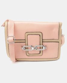 Blackcherry Bag Whimsy Mini Crossbody Bag Pink