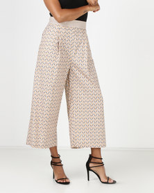 SHWE The Wearable Library Sophie Wide Trousers Neutral