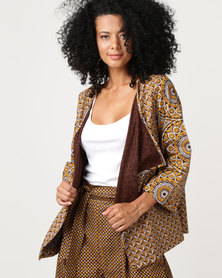 SHWE The Wearable Library Ackie Cascading Jacket Yellow