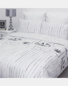 Sheraton Aloe Duvet Cover Set Multi