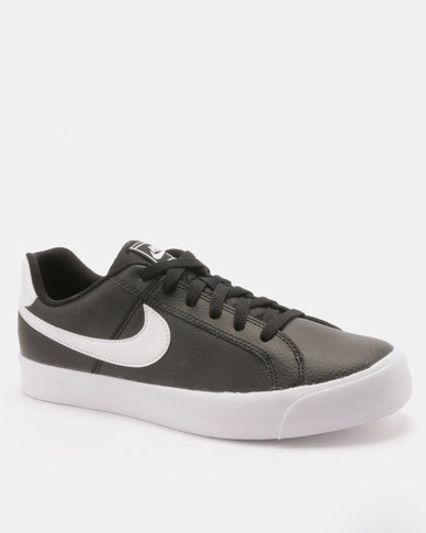2aab4e898 Nike Womens Nike Court Royale AC Black/White | Zando