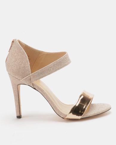 Sandal Ankle Sissy Rose Wrap Gold Boy Heeled mnwN80
