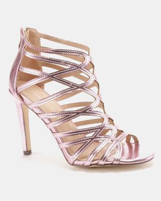 ee5285b705f5 Sissy Boy Gladiator Hybrid Sandals Pink