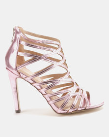Sissy Boy Gladiator Hybrid Sandals Pink