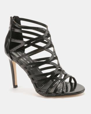 060f1ec48 Sissy Boy Gladiator Hybrid Sandals Black