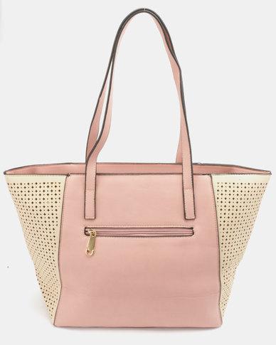 Blackcherry Bag Structured Handbag Pink