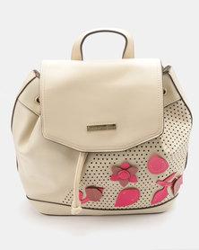 Blackcherry Bag Fashion Backpack Bisque Beige