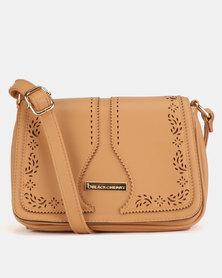 Blackcherry Bag Western CrossBody Bag Tan