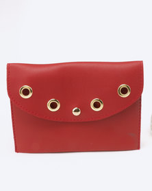 Blackcherry Bag Ringlet Detailed Belt Bag Burgandy