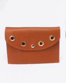 Blackcherry Bag Ringlet Detailed Belt Bag Tan