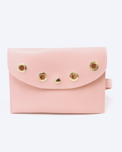 Blackcherry Bag Ringlet Detailed Belt Bag Pink