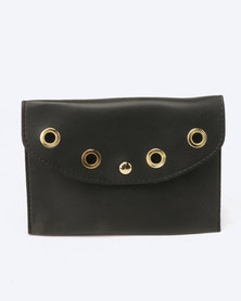 Blackcherry Bag Ringlet Detailed Belt Bag Black