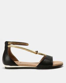 SOA Medusa Sandals Black