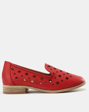 SOA Flash Slip Ons Red