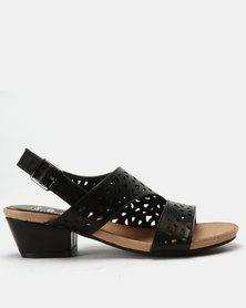 SOA Haven Sandals Black