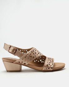 SOA Haven Sandals Rose Gold