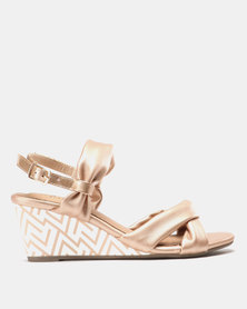 SOA Nerissa Wedges Rose Gold