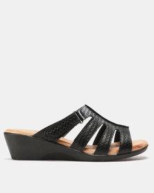 SOA Candace Sandals Black