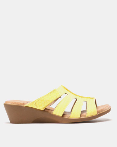 SOA Candace Sandals Lemon