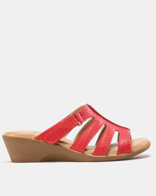 SOA Candace Sandals Red