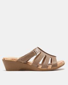 SOA Candace Sandals Taupe