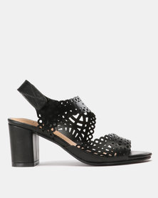 SOA Spain Heels Black