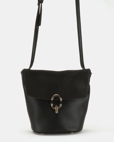 Utopia Crossbody Bag Black