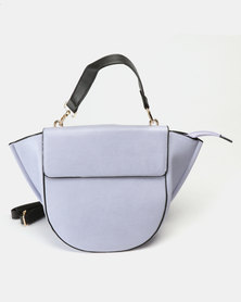 Utopia Flap Handbag Lilac