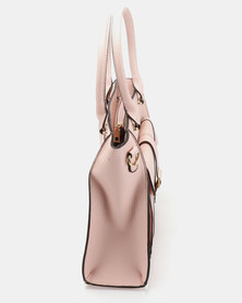 Utopia Double Strap Handbag Pink