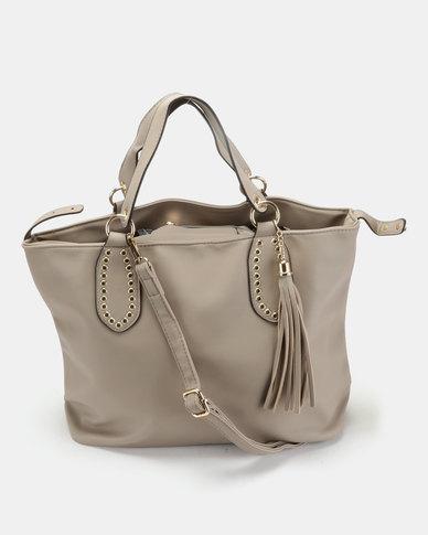Utopia Softee Handbag Taupe