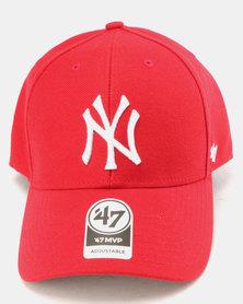 47 Brand MVP New York Cap Red
