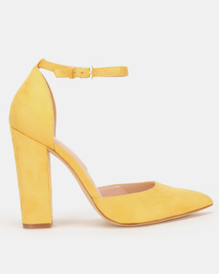 a1888fabe2f Yellow Heels