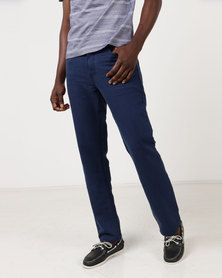 JCrew Blue Knitted Denim Jeans Blue