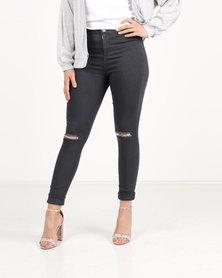 Legit Tube Skinny Jeans Grey