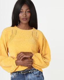 Legit Cheneille Pullover Artisan Gold