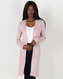 Legit Lightweight Cardi Pink