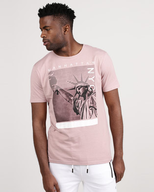 Smith & Jones Parkson NYC T-Shirt Pink