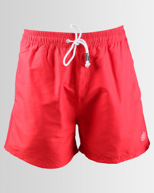 Smith & Jones Arone Swim Shorts Mars Red